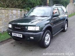 TopWorldAuto >> Photos of Vauxhall Frontera - photo galleries