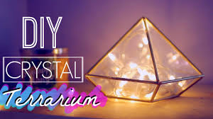 diy easy crystal terrarium room decor tumblr and urban