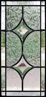 autumn custom leaded glass beveled sidelight window