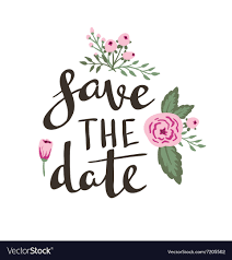 Poster Template Save The Date Wedding Marriage