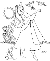 Small Picture Disney Princess Coloring Pages Sleeping Beauty Coloring Pages