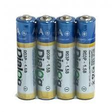 <b>Батарейка Dialog</b> R03P-4S - солевые <b>батарейки ААА</b> - Магазин ...