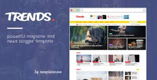 News Blogger Templates From Themeforest