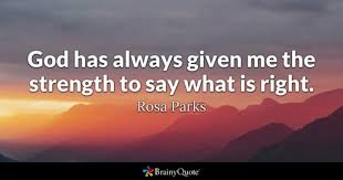 Memorable Quotes 62 Stunning Rosa Parks Quotes BrainyQuote