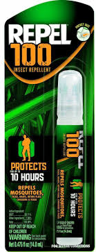 deet travel size repel 100 travel size insect mosquito repellent pen spray 98 deet