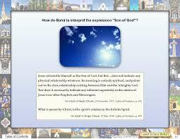 Lights Of Guidance Hearttoheart Co Do Bahais Believe In Jesus