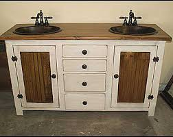country bathroom double vanities. rustic double sink bathroom vanities country t