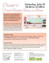 Online Cricut Design Cricut And Cricut Design Space With Diana 7 28 18