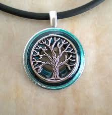 mens celtic necklace awesome tree of life necklace aqua mens necklace celtic jewelry mens