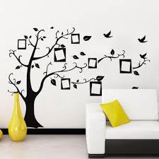3d diy photo tree bird pvc wall decal family sticker mural art home decor dz