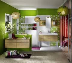 interior decoration themes for girly modern living room lime green wall light grey carpet unique