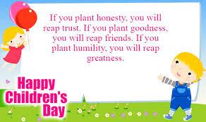 Happy Children's Day Status, Message, Quotes in English | Childrens day  quotes, Happy children's day, Children's day