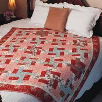 Quarter Logs - Free Log Cabin Quilt Pattern - The Quilting Company & About this Quilt Adamdwight.com