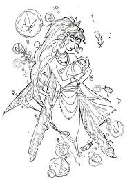 Fairy Coloring Pages Bebe Cards Fairy Coloring Pages Coloring