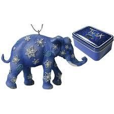 blue snowflakes elephant tusk brand