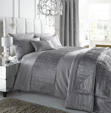 Silver Grey Bedroom Sahara Silver Duvet Cover Set Double Home Pinterest Duvet