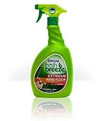 tropiclean fresh breeze stain odor remover extreme hard floor cleaner