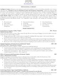 Military Veteran Resume Examples Federal Template Word Writing To .