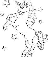 Scarica E Stampa Disegno Da Colorare Unicorno Disegni Da Colorare