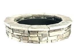 menards fire pit kit brick fire pit kit panama in w x in l gray concrete fire menards fire pit kit