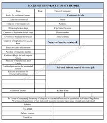 free estimate forms templates 10 best images of business estimate form free handyman