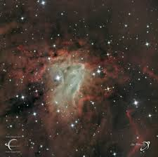 Light And Optics Faulkes Telescope Project Ngc1491 Reprocess Of Ngc 1491 Nebula Location Perseus Fa