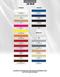 2018 Ram Color Chart 2018 Ram Power Graphics Power 2009 2017 2018 2019 3m Standard Wet Install