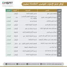 أسماء الأوائل في اختبار الإمارات القياسي انجاز EmSat - إمسات | وكالة سوا  الإخبارية