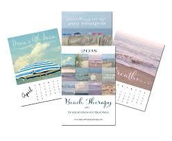 inspirational calendar 2018 beach motivational calendar with es photo calendar with easel