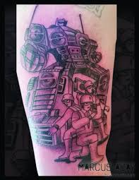 Beastie Boys Tattoo By Marcus Aday Your Flesh Tattoo