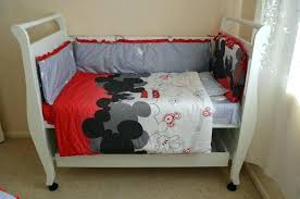 minnie mouse crib bedding baby mickey mouse crib bedding sets image of baby mickey mouse crib