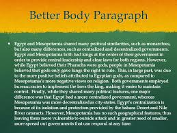 Compare And Contrast Mesopotamia And Egypt Egypt Essay Mesopotamia And Essay Conclusion Homework Academic
