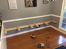 Against The Wall Dining Table Kitchen Table Seems So Boring After I Saw What This Guy Built Im