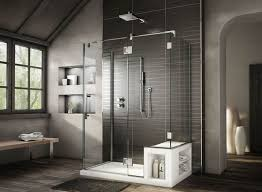 Contemporary Shower Stalls With Seat