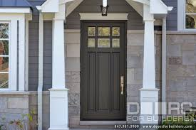Classic Collection  Panel Door Euro Technology Clear Beveled - Custom wood exterior doors
