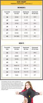 Vibram Size Chart Men Furoshiki Size Chart Vibram