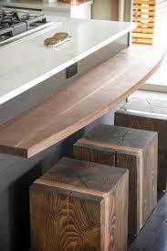 Diy Breakfast Bar Industrial Mill Style Reclaimed Wood Breakfast Bar Two Stools