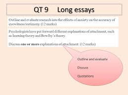 rules of the game ppt qt 9 long essays outline and evaluate research into the effects of anxiety on the accuracy