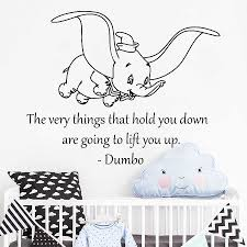 Detail Feedback Questions About Dumbo Quote Wall Decal Elephant