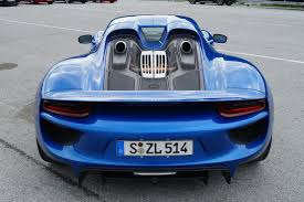 porsche 918 spyder blue. itu0027s one of those colours that immediately captures your attention which seems appropriate really as the porsche 918 spyder has definitely captured ours blue