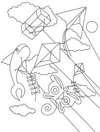 Small Picture Flying kite coloring pages for kids ColoringStar