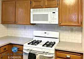 ideas to update oak kitchen cabinets with countertop backsplash and hardware white appliances