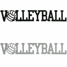 Volleyball Word Volleyball Word Ebay