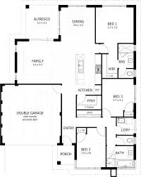 3 Bedroom 2 Bath House Plans Interesting Ideas