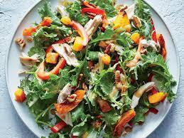 healthy yummy lunch ideas. baby kale, butternut, and chicken salad healthy yummy lunch ideas
