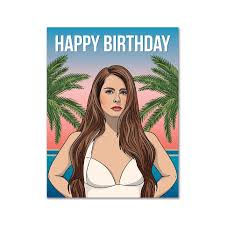 Where can i find my account and routing. Lana Del Rey Birthday Card Urban General Store