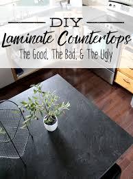 how to diy laminate countertops