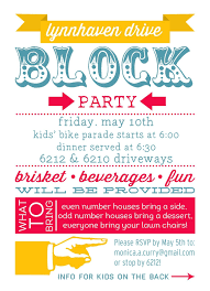 Block Party Flyer Block Party Invitation Idea Thecurryinvitations Blogspot Com