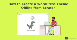 Manual Design Templates Beauteous How To Create WordPress Theme From Scratch Beginners Guide 48