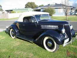 1936 Ford Roadster Coupe Vintage Sidevalve Convertible Chev GT